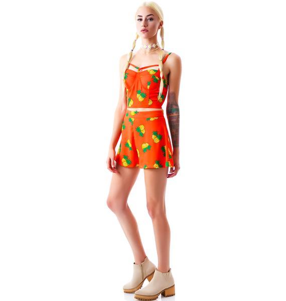 Malibu Pineapple Shorts