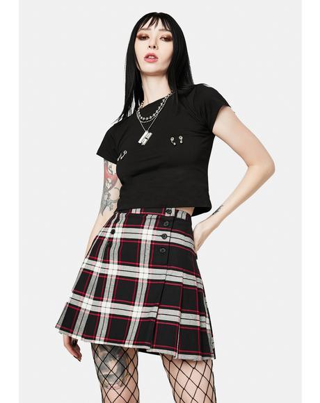 Vivienne Plaid Mini Skirt