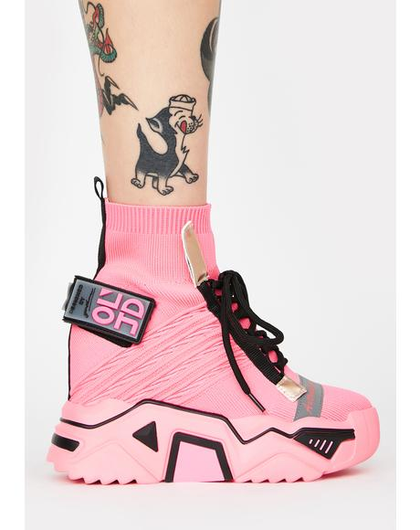 Clout Chasin' Platform Sneakers