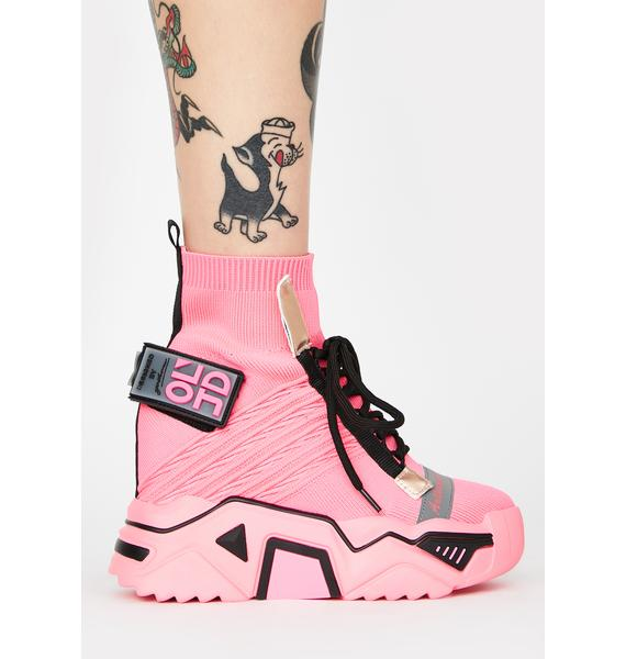Anthony Wang Clout Chasin' Platform Sneakers