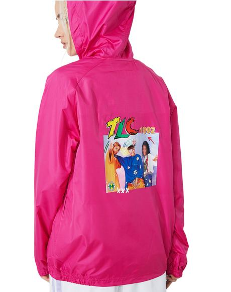 TLC Hooded Windbreaker