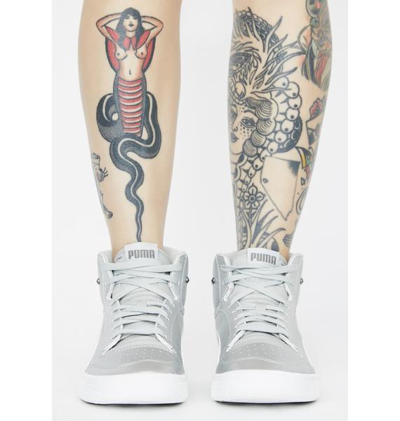 PUMA Ralph Sampson Mid Glitz Sneakers