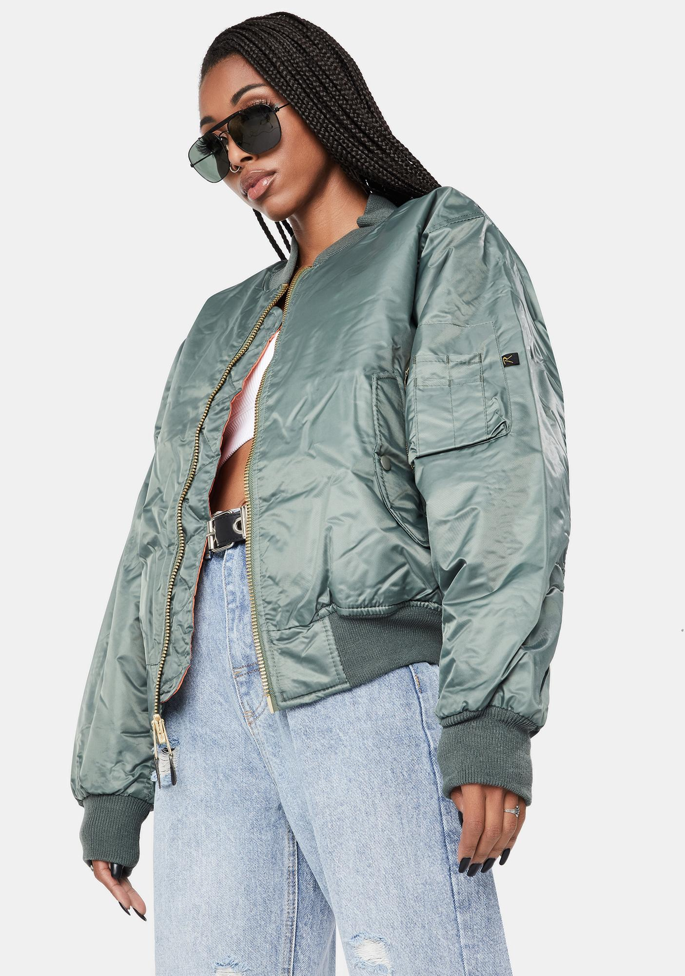 Rothco Sage Green MA-1 Flight Jacket