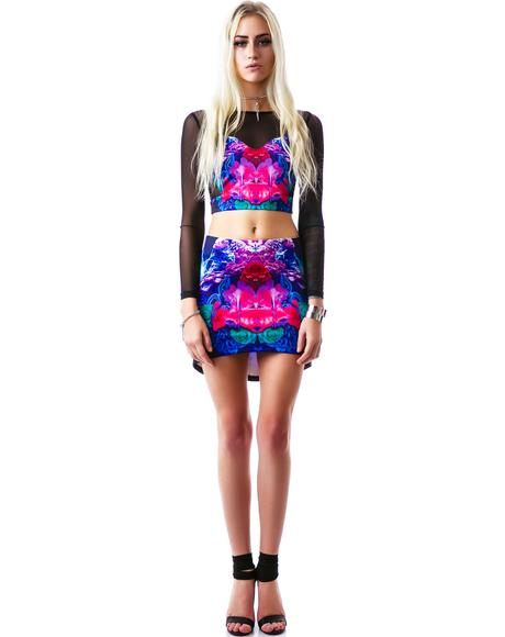 Electric Trapeze Skirt