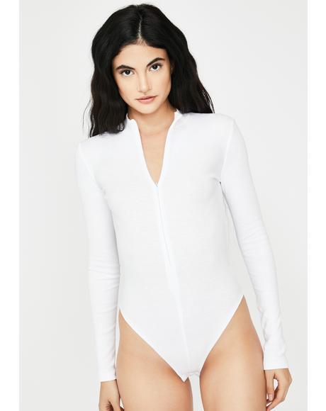 Thea Zipper Bodysuit