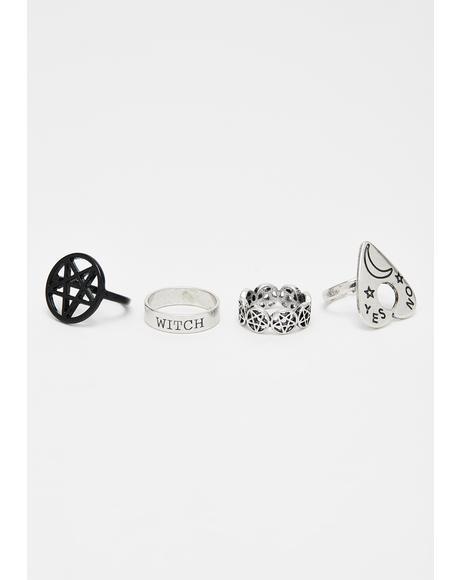 Spirit Seance Ring Set