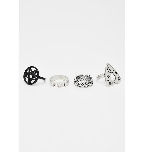 Spirit Seance Ring Set
