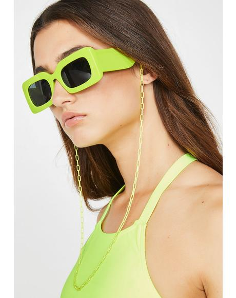 Volt Suddenly Last Summer Sunglasses Chain