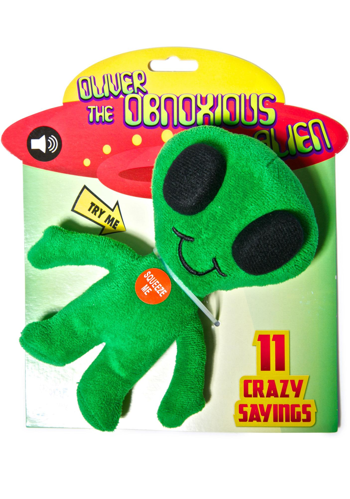 Oliver the Obnoxious Alien Plush Toy