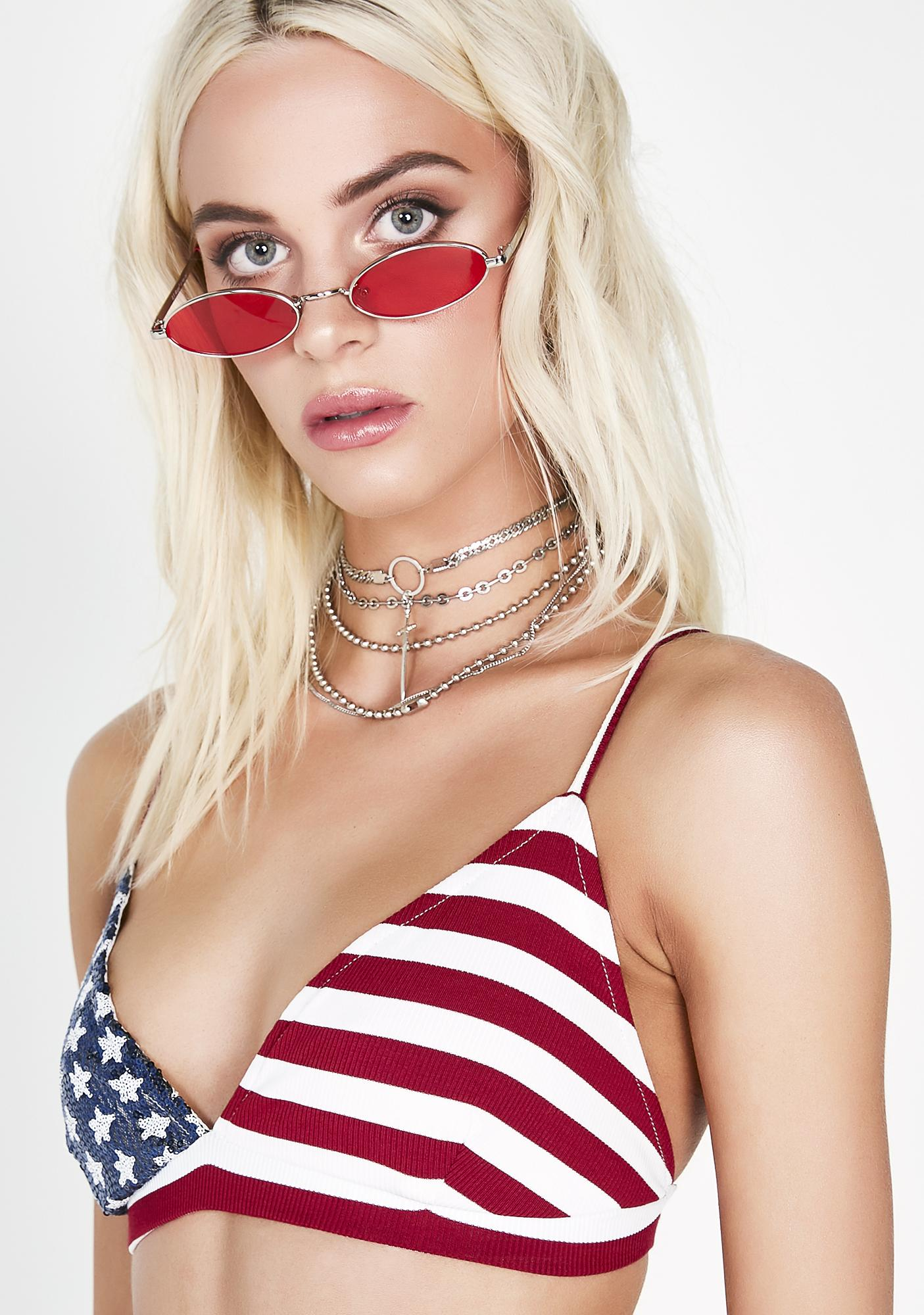 Mz America Bra Top