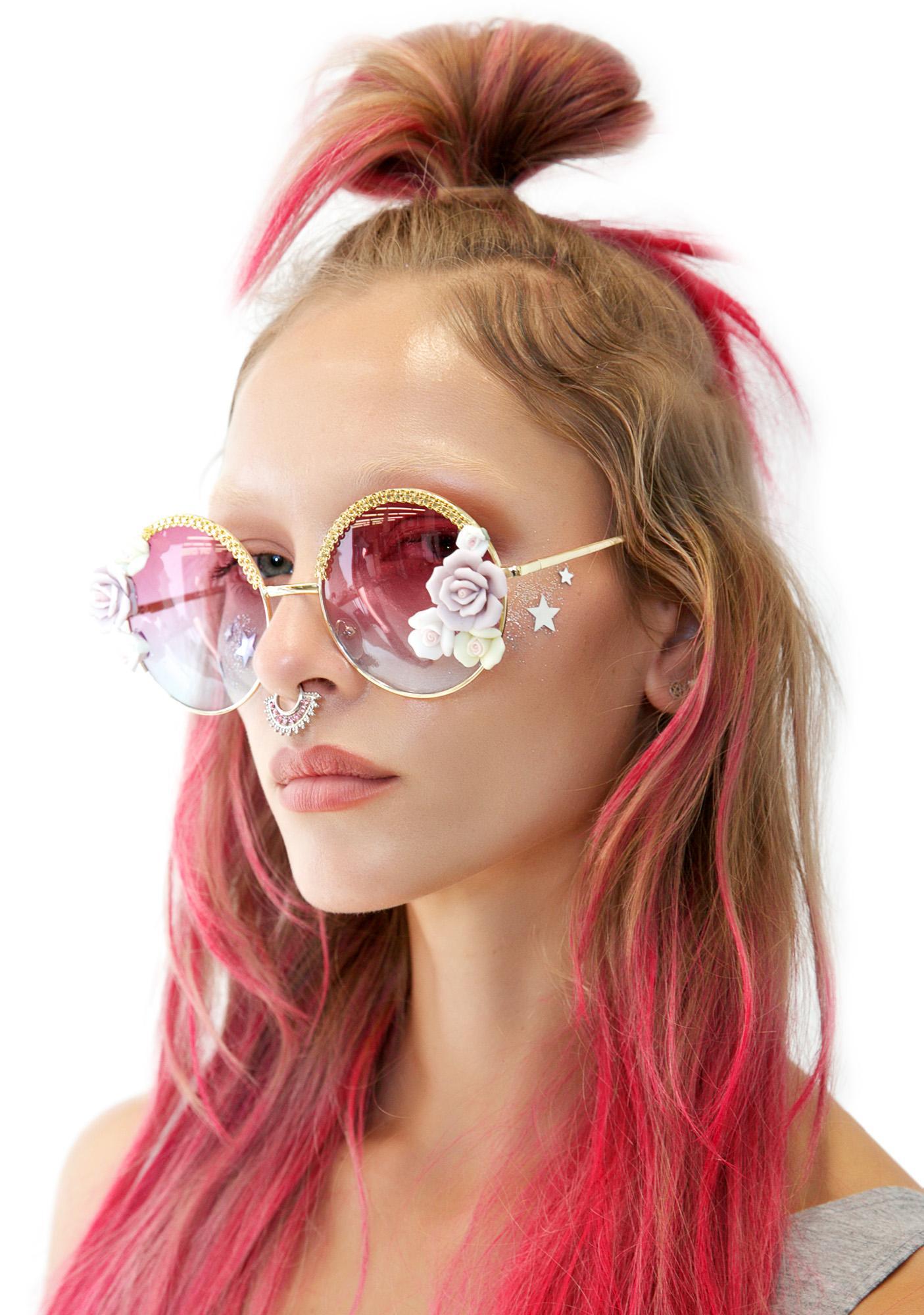 Tnemnroda We The Roses Sunglasses