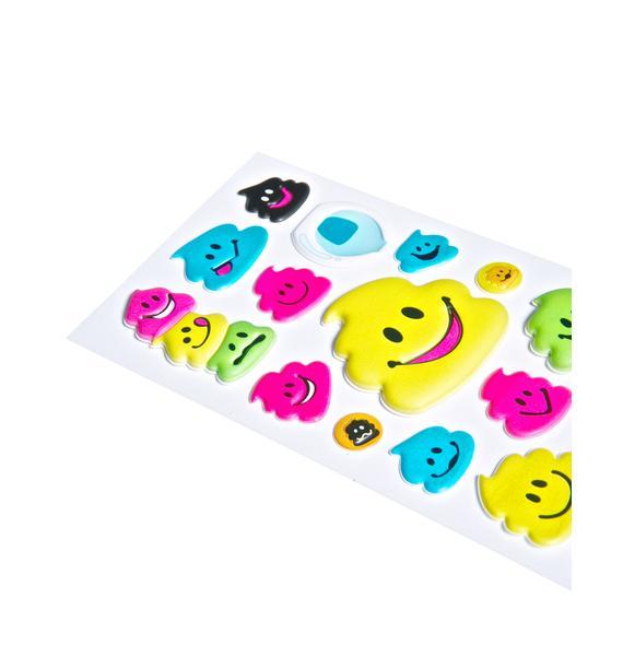 Everybody Poops Sticker Set