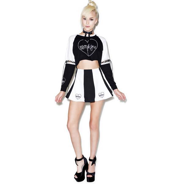 Morph8ne Hypnosis Skater Skirt