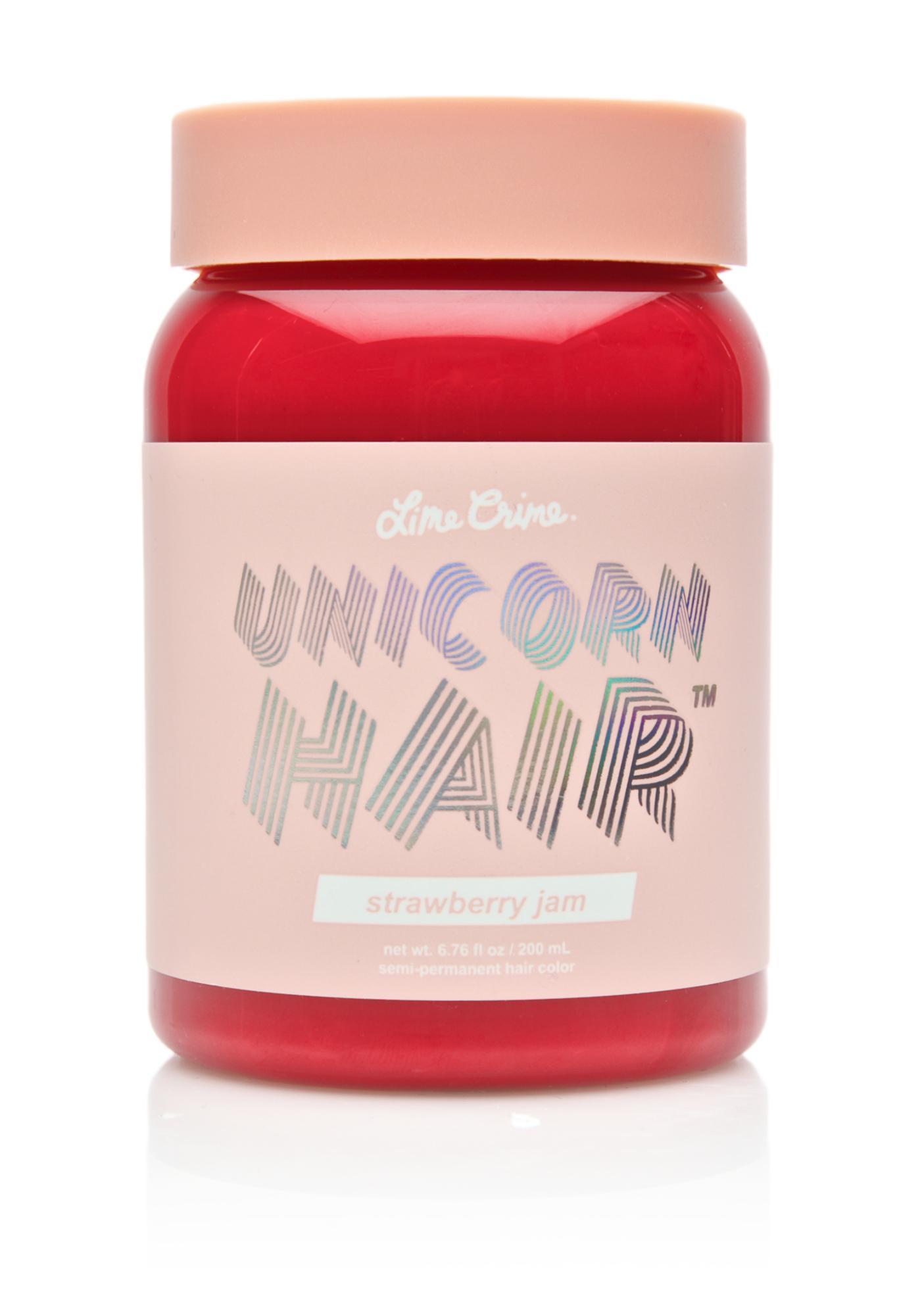 Lime Crime Strawberry Jam Unicorn Hair Dye
