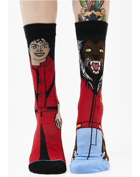 Michael Jackson Socks