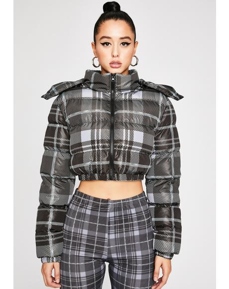 Back In Session Puffer Jacket
