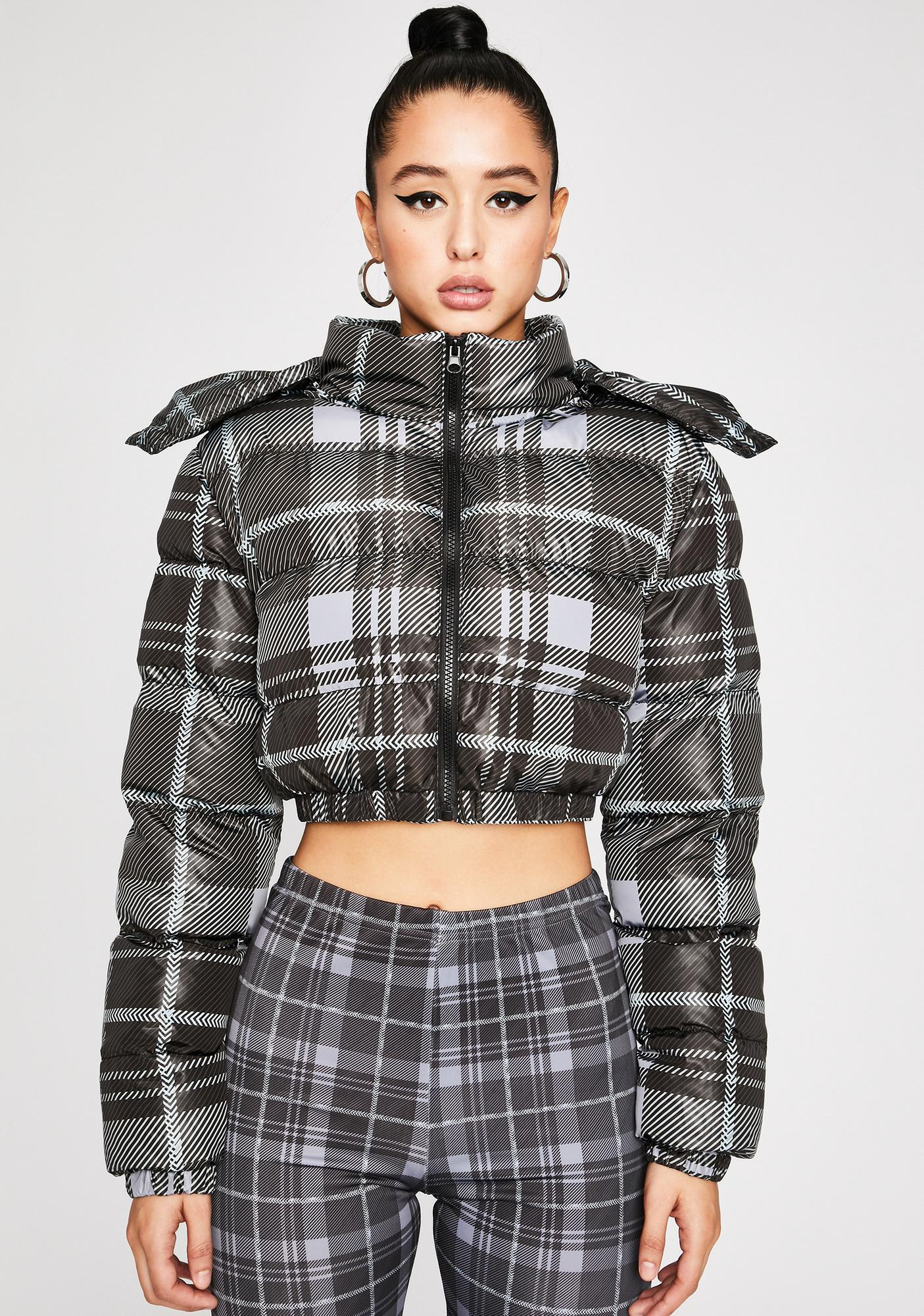 Poster Grl Back In Session Puffer Jacket