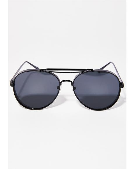 Fly Higher Aviator Sunglasses