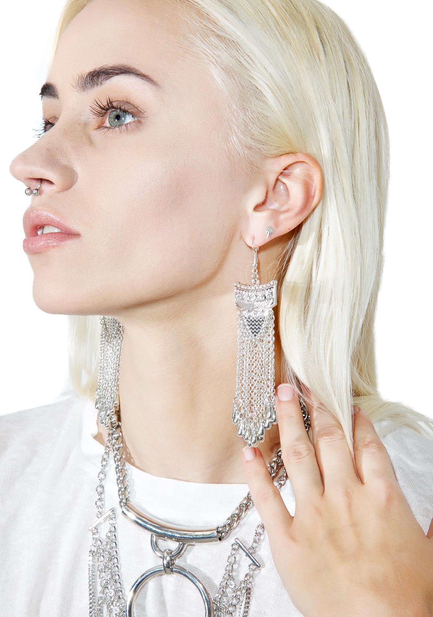 So Flow Fringe Earrings