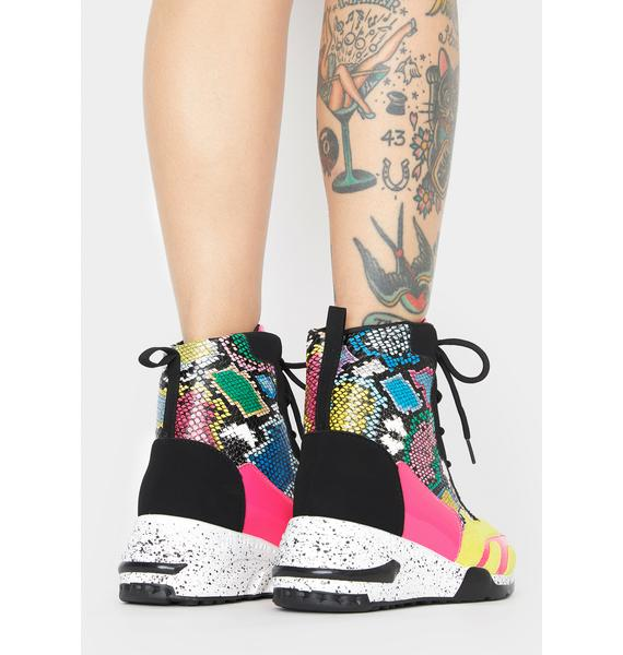 Volt Feisty Galore Platform Sneakers