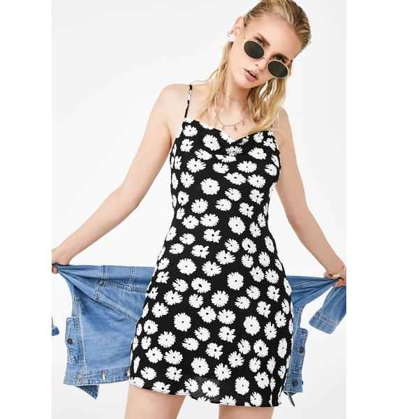 Daisy Fever Mini Dress