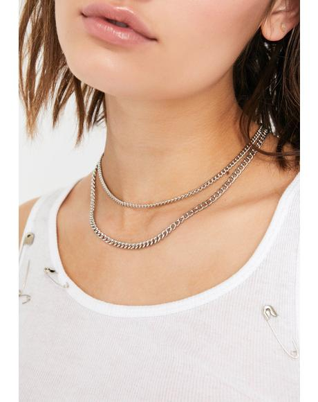 Punk Plan Chain Necklace