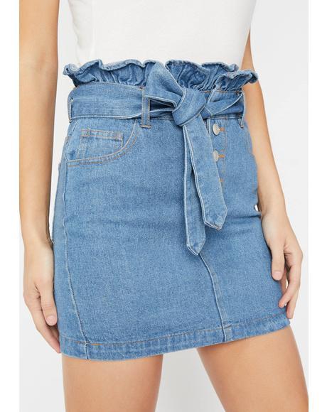 Guilty Chic Denim Skirt
