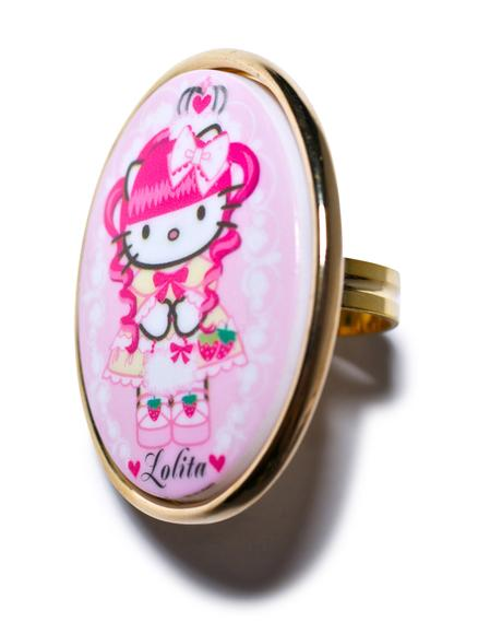 Gothic Lolita Mod Ring