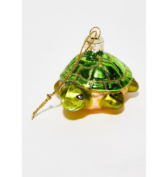 Crocodile N' Turtle Ornament Set