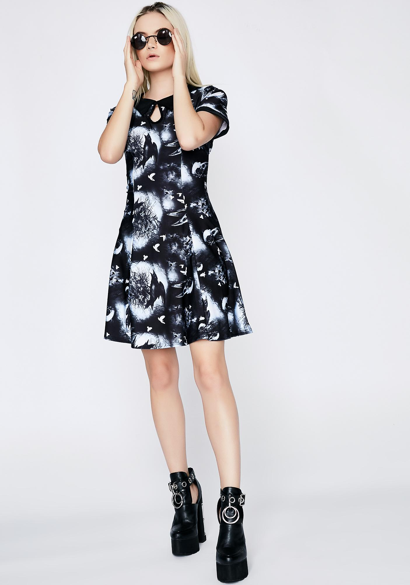 Hell Bunny Crows Nest Dress
