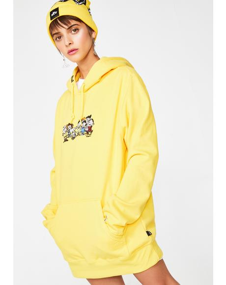 Peanuts End Credits Pullover Hoodie