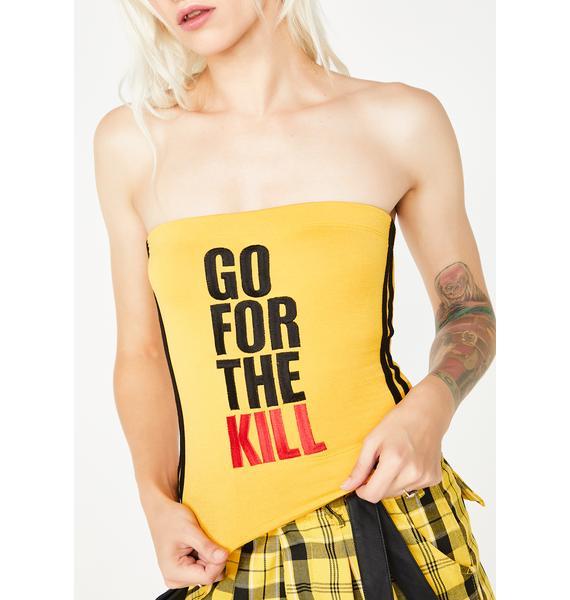 O Mighty Go For The Kill Boob Tube