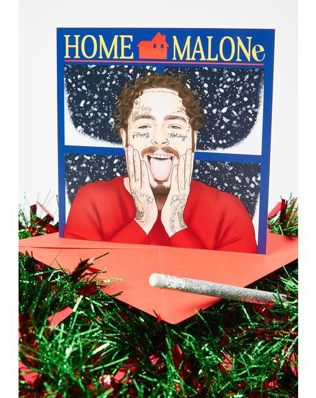 Home Malone Holiday Card
