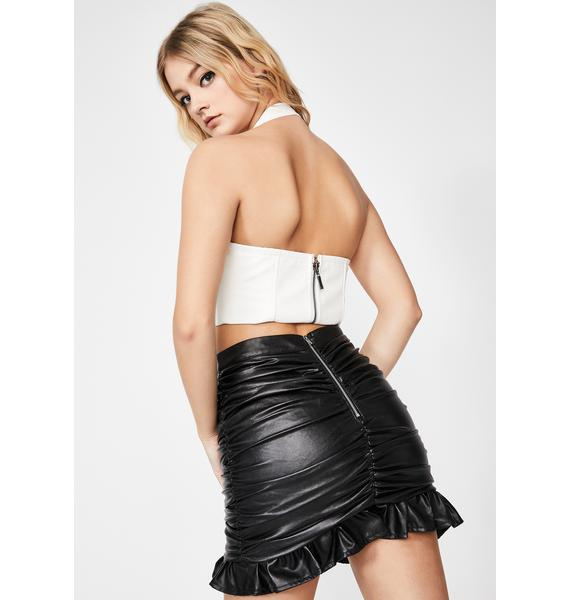 Wildest Dreams Ruched Skirt