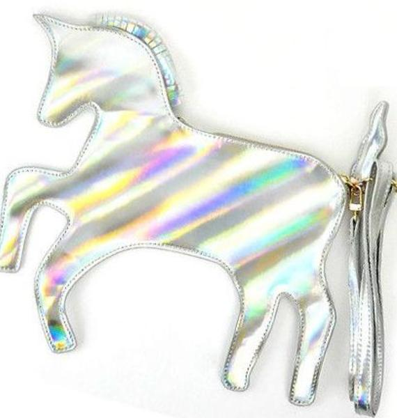 The Last Unicorn Hologram Clutch