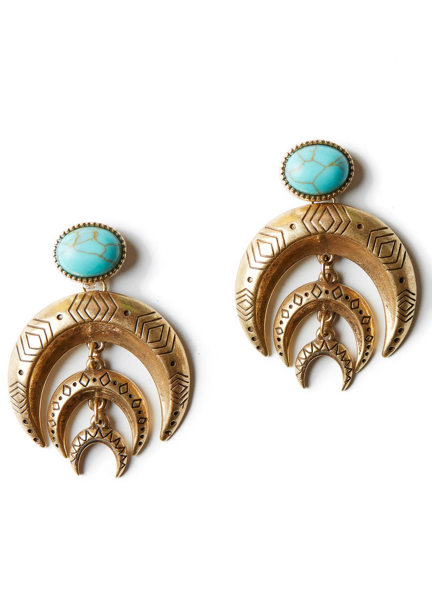 Desert Moon Earrings