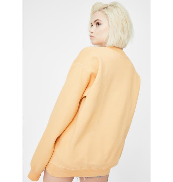 Neema Zane Crewneck Pullover Sweatshirt