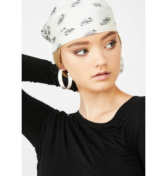 Slick Mood Hoop Earrings