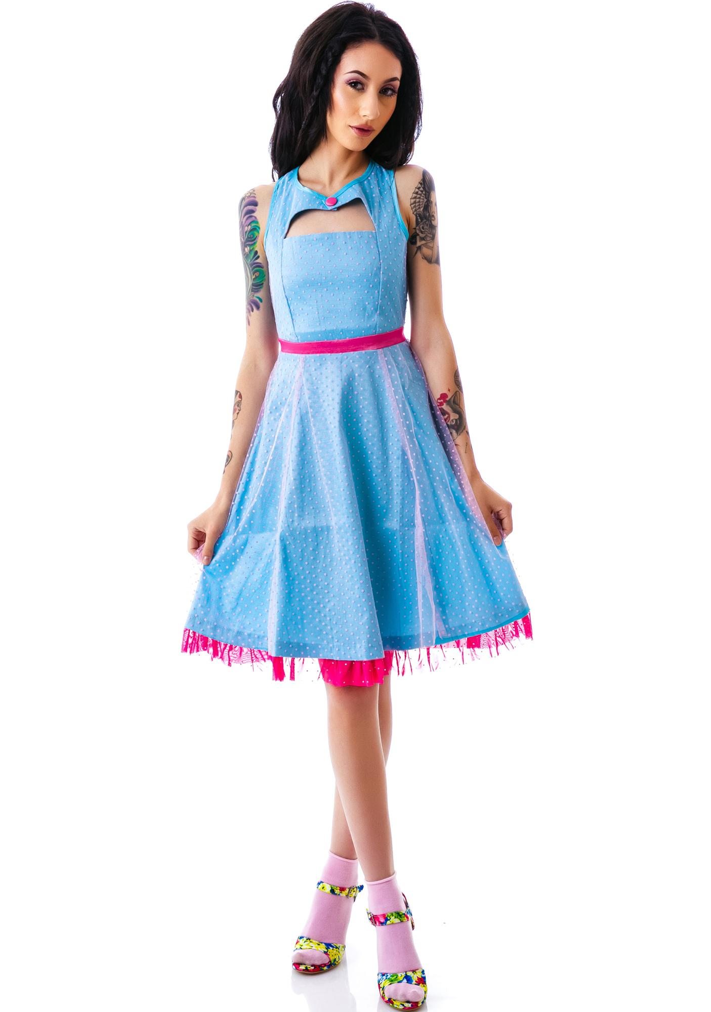 Sourpuss Clothing Vintage Dance Card Dress
