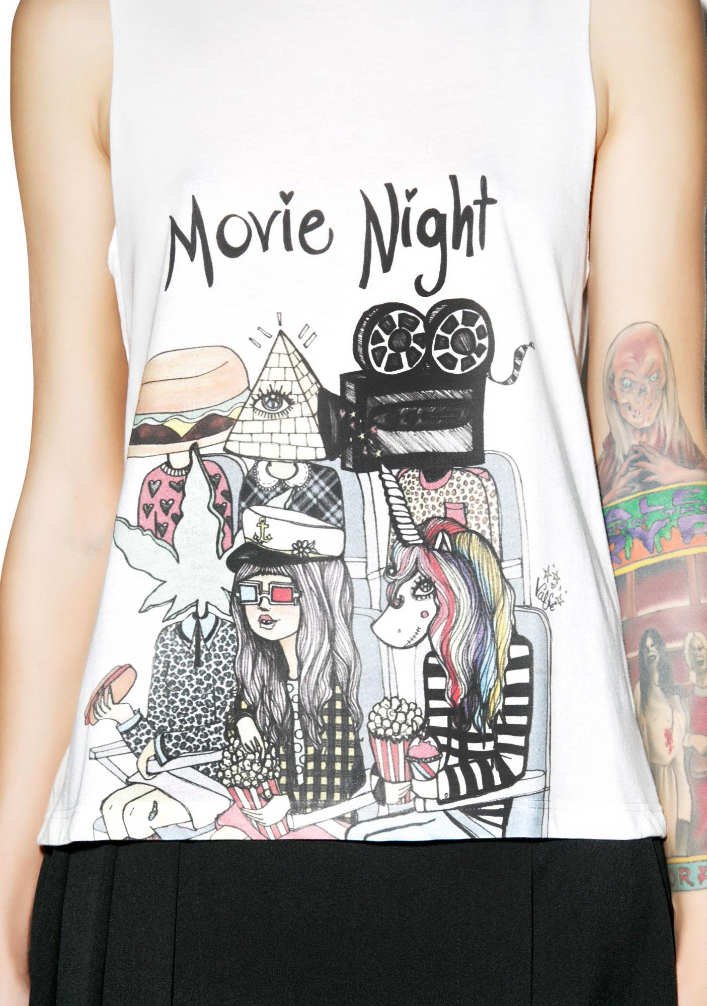 Valfré Movie Night Muscle Tee