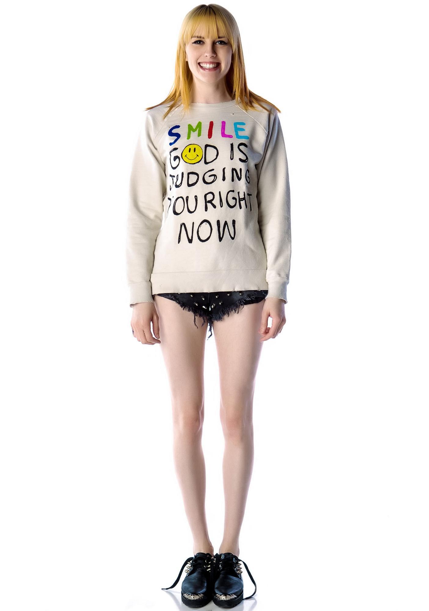 UNIF Smile Sweatshirt