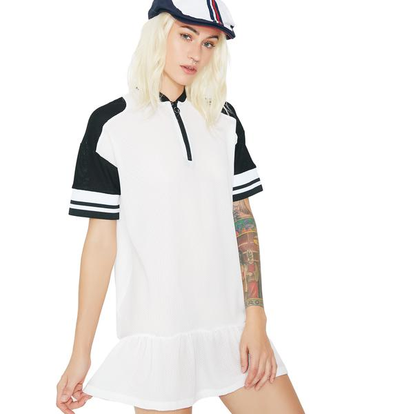 OKAYLA Half Zip Dress