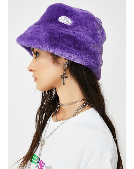 Purple Virtual Insanity Bucket Hat