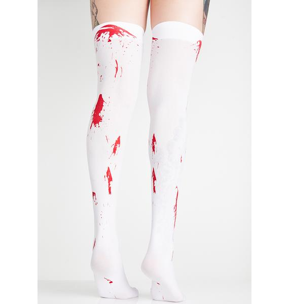 Bloody Hell Thigh Highs