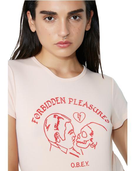 Forbidden Pleasures Babydoll Tee