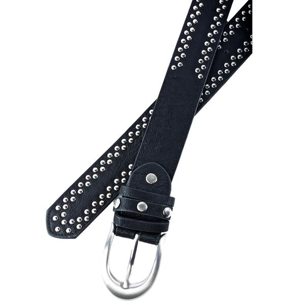 Blazing Trails Studded Belt