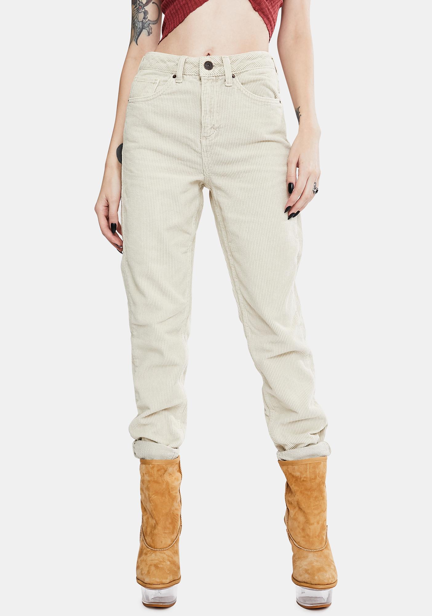 BDG Corduroy Mom Jeans