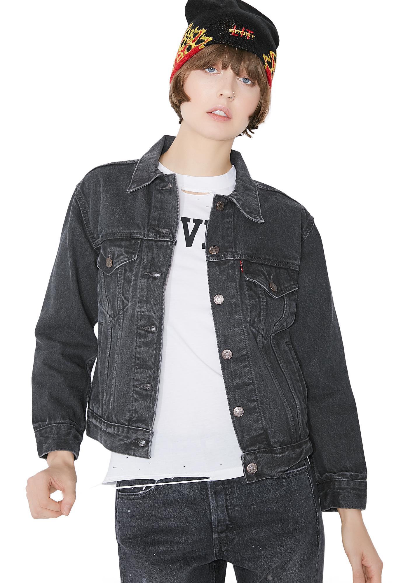 Levis Ex Boyfriend Trucker Jacket
