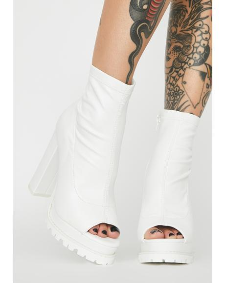 Livin' Dangerous Heeled Booties
