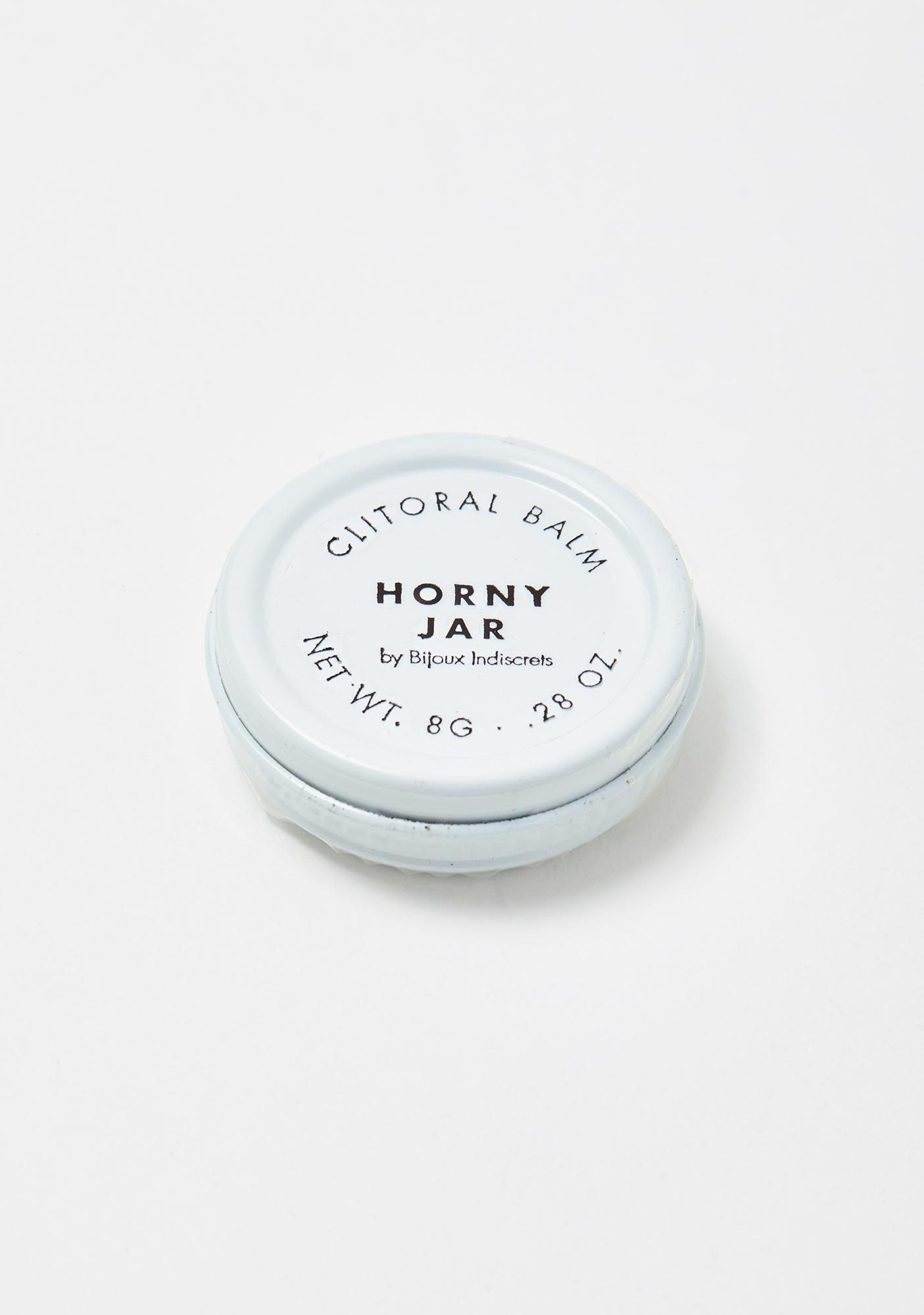BIJOUX INDISCRETS Clitherapy Horny Jar Balm